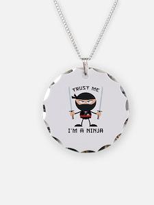 Trust Me, I'm A Ninja Necklace