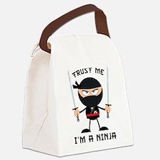 Trust Me, I'm A Ninja Canvas Lunch Bag