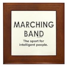 Marching Band Framed Tile