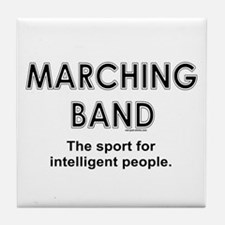 Marching Band Tile Coaster