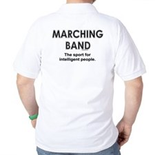 Marching Band (back image) T-Shirt