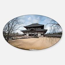 Todaiji temple Decal