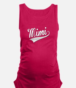 Mimi, Retro, Maternity Tank Top