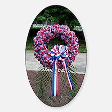 Memorial Day Sticker (Oval)