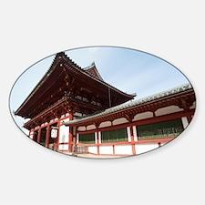 Todai-ji temple middle gate Decal