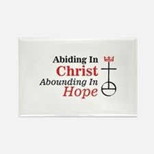 Abiding In Christ Abounding In Hope Magnets