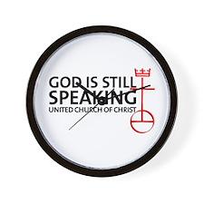 God Is Still Speaking Wall Clock