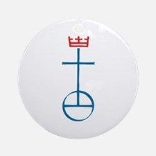 United Church of Christ Ornament (Round)
