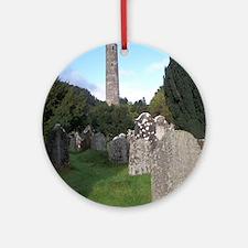 Irish Cemetery Round Ornament
