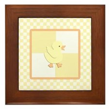 Little Rubber Duckie Framed Tile