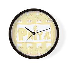 Little Rubber Duckie Wall Clock