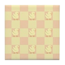 Little Rubber Duckie Tile Coaster