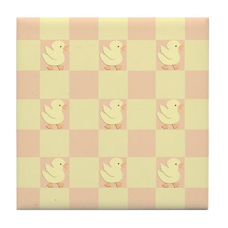 Little Rubber Duckie Tile Coaster