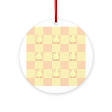 Little Rubber Duckie Ornament (Round)