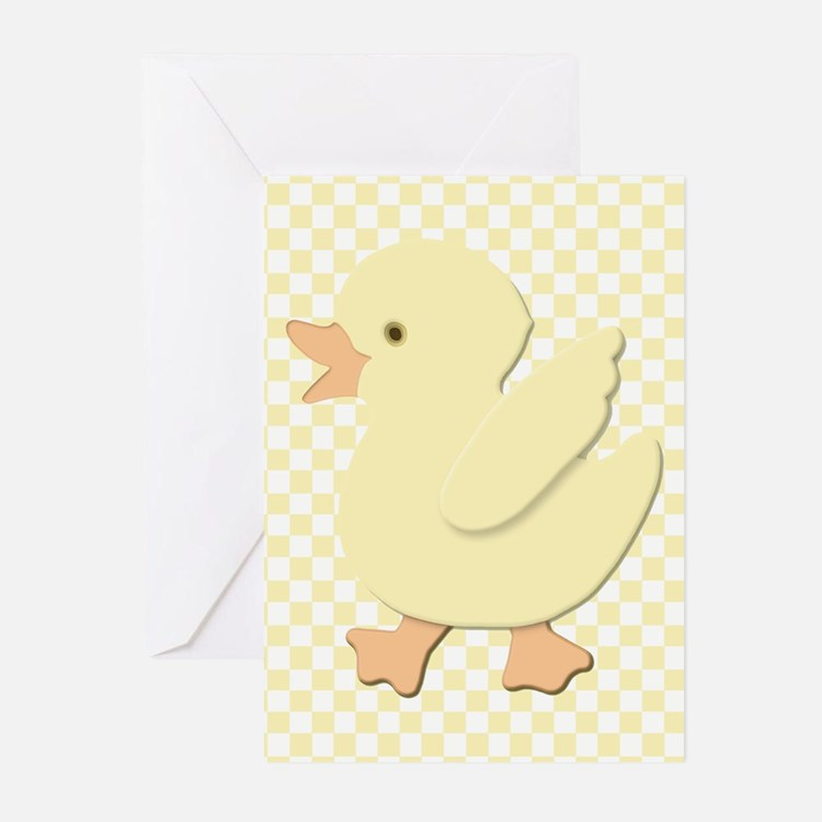 Little Rubber Duckie Greeting Cards (Pk of 10)