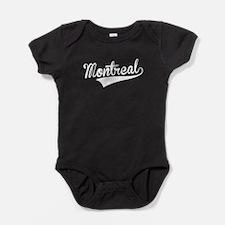 Montreal, Retro, Baby Bodysuit