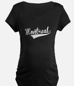 Montreal, Retro, Maternity T-Shirt