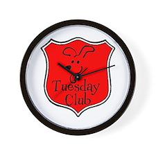 Tuesday Club Merch Wall Clock