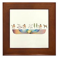 Plott Hieroglyphs Framed Tile