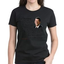 Ronald Reagan on Freedom Tee