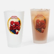 Spiderman Drinking Glass