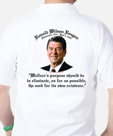 Ronald Reagan Welfare Quote T-Shirt