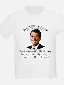 Ronald Reagan Govt's Duty T-Shirt