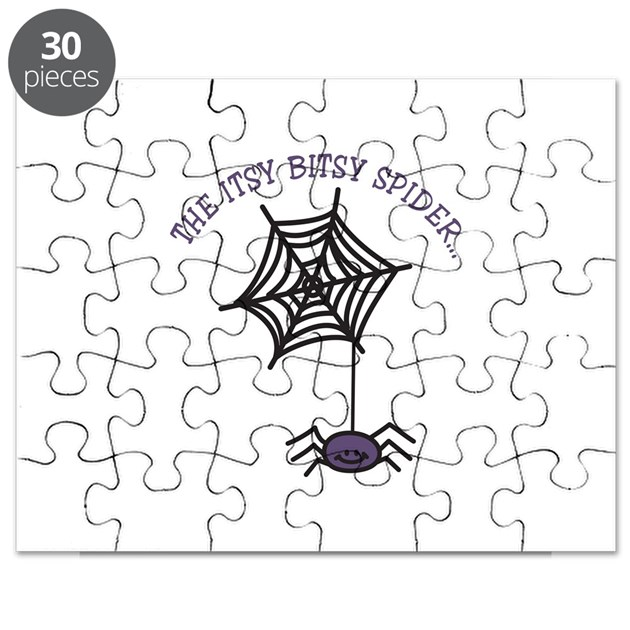 THE ITSY BITSY SPIDER... Puzzle by Concord5