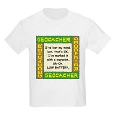 Green Geocacher Lost Mind T-Shirt