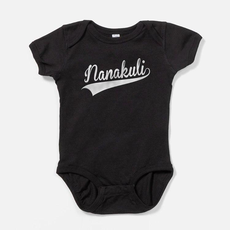 Nanakuli, Retro, Baby Bodysuit
