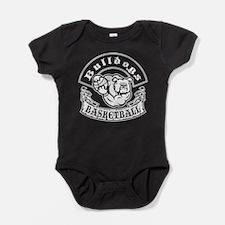 Bulldogs Basketball Baby Bodysuit