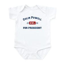 Colin Powell for President Infant Bodysuit