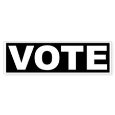 VOTE Bumper Bumper Sticker