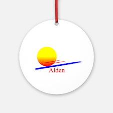 Alden Ornament (Round)