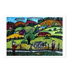 Appenzeller Swiss Horn Pl Postcards (Package of 8)