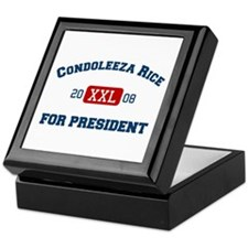 Condoleeza Rice for President Keepsake Box