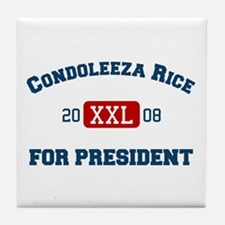 Condoleeza Rice for President Tile Coaster