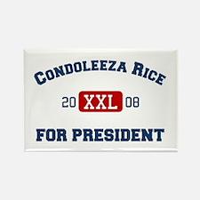 Condoleeza Rice for President Rectangle Magnet