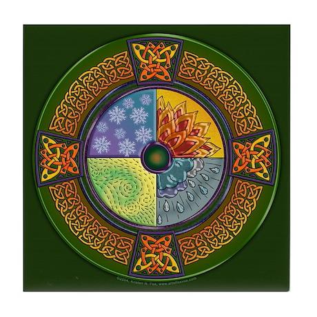 Celtic Elements Decorative Tile