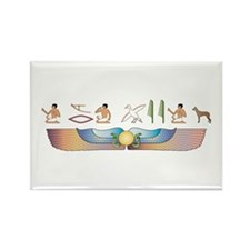 PIO Hieroglyphs Rectangle Magnet