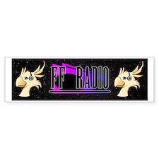 FF Radio Banner Bumper Sticker
