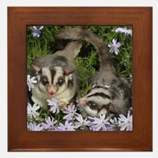 Flowers Framed Tile