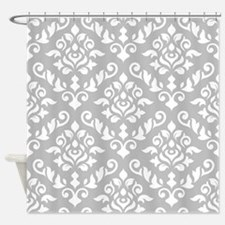 Baroque Damask Wg Design Shower Curtain