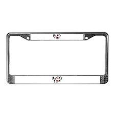 Mickey Finn License Plate Frame