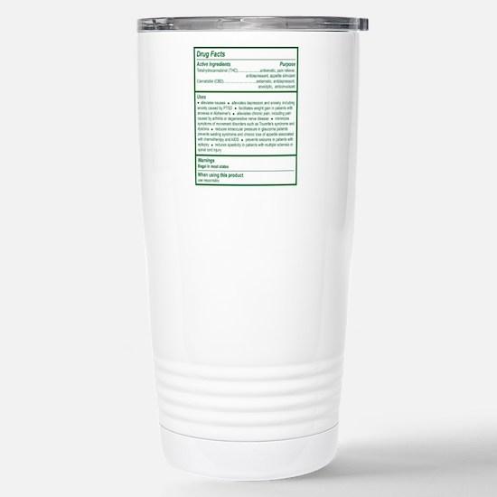 THC Drug Facts Large Mugs