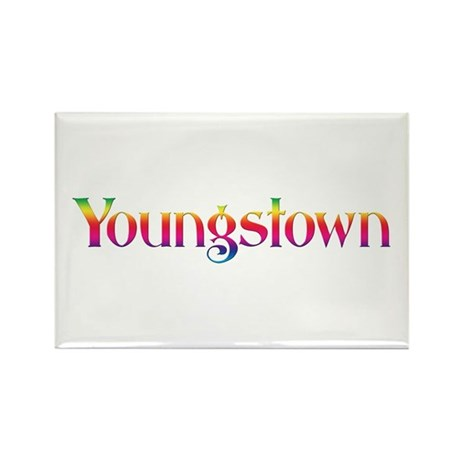 Youngstown Rectangle Magnet