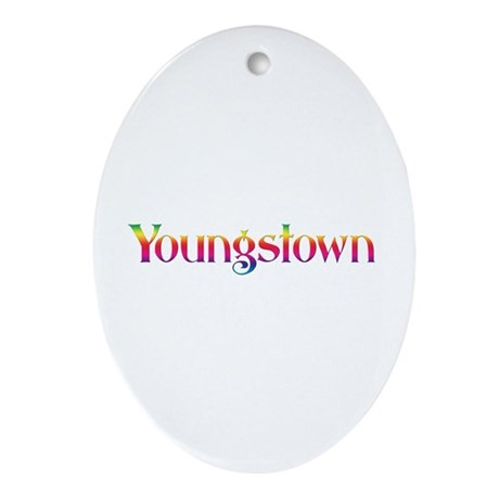 Youngstown Oval Ornament