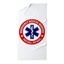 EMS (You Call, We Haul) Beach Towel