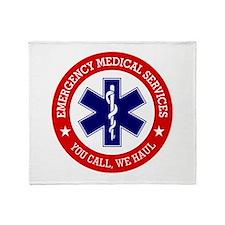 EMS (You Call, We Haul) Throw Blanket