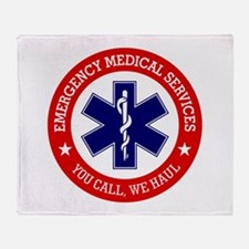 EMS (You Call, We Haul) Throw Blanket